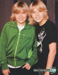 Dylan and Cole Sprouse (Tiger Beat) Sprouse Bros, Dylan Sprouse, Zack Et Cody, Suit Life On Deck, Dylan And Cole, Tiger Beat, Dylan Thomas, Suite Life, Debby Ryan