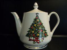 Vintage Jamestown China Christmas tree teapot by Treasures102