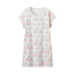 WOMEN Moomin Short Sleeve Graphic Tunic