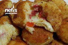 İçi Dolgulu Çıtır Çıtır Patates Kroket Tarifi