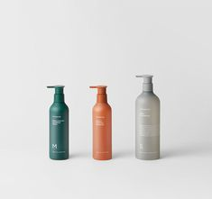 Ayunche Brand Refreshment / Amos Professional, 2021 / Deigned by Jiyoun Kim Studio™ - Jiyoun Kim, Hannah Lee, Dokyoung Lee / www.jiyounkim.com Luxury Hair, Brand Guidelines, Type Setting, Saturated Color, Natural Texture, Branding Design, Water Bottle, Container, Packaging
