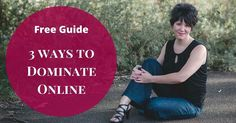 Do you feel invisible online?  Are you struggling to gain a piece of your own online real estate?  In my Free Guide I reveal 3 ways to dominate the online world.  http://ift.tt/2s3aQc6  #business #womeninbusiness #successfulwomen #entrepreneur #coach #lifecoach #bizcoach #thrive #successful #ladyboss #lifecoaching #hustle #clients #clarity #cash #mindset #visibility #unstoppable #unstuck
