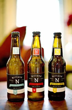 Nilland - Typographic Beer Label on Behance
