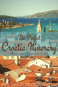With so much to see in a relatively small country, it can be hard to plan a Croatia itinerary. Click to read our tips and routes for Croatia travel!