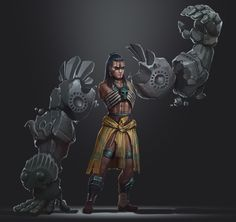 ArtStation - Georgy Stacker's submission on Ancient Civilizations: Lost & Found - Character Design