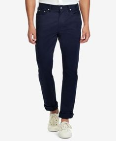 Polo Ralph Lauren Men's Big & Tall Classic-Fit Stretch Pants - Collection Navy 44x32