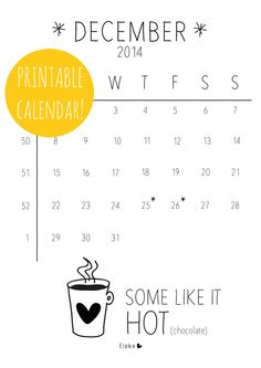 So I can't read the blog, but the printables are in English! Monthly calendar released the 1st of each month, and plenty more cute printables. {www.elskeleenstra.nl}