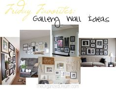 FF: Gallery Wall Ideas