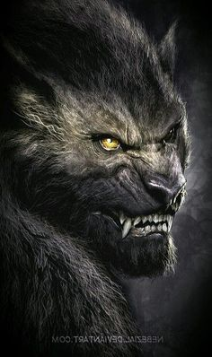 So freakin cool. Mythological Creatures, Fantasy Creatures, Mythical Creatures, Dark Fantasy Art, Dark Art, Werewolf Art, Werewolf Mythology, Beast, Wolf Artwork