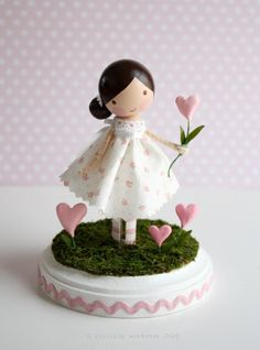 so sweet - clothespin doll