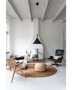 """Scandinavian by Christien Starkenburg #christienstarkenburg #livingroom #interior #interiors #interiordesign #design #architecture"" via @homeadore"