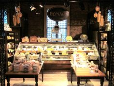 Cheese Store in Limelight Market NYC