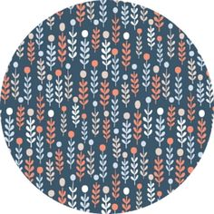 """Dear Stella, The Big Chill, Winter Sprigs Navy  Fabric is sold by the 1/2 Yard. For example, if you would like to purchase 1 Yard, you would enter 2 in the Qty. box at Checkout. Yardage is cut in one continuous piece.  Examples:  1/2 yard = 1 1 yard = 2 1 1/2 yards = 3 2 yards = 4  1/2 Yard Measures 18"""" x 44/45""""  Fiber Content: 100% Cotton    Hover over image for a larger, better view.  Care Instructions:  To increase the longevity of your fabrics, hand-wash,  or wash on a gentle cycle in…"""