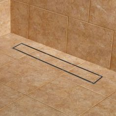 Cohen Linear Shower Drain   Bathroom