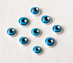 Royal Icing Transfer 2 color iris eyeballs More