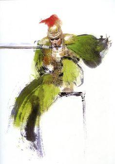 Illustration | 孫策 | 三國志 Three Kingdom | Chen Uen 鄭問