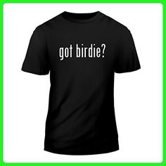 got birdie? - New Short Sleeve Adult Men's T-Shirt, Black, Small - Animal shirts (*Amazon Partner-Link)