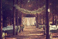 woods wedding, #wedding