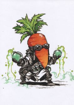 Amazing Drawings, Cool Art Drawings, Cartoon Sketches, Art Sketches, Game Character Design, Character Art, Concept Art Tutorial, Arte Robot, Graffiti Characters