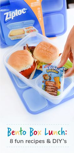 When it comes to delicious and easy recipes for back-to-school season, you simply can't beat the combination of ZIPLOC® brand Bento Box, a delicious Mott's product—like their applesauce pouches—and your favorite NABISCO snacks—like Mini CHIPS AHOY! Cookies—all of which can be found at your local Target! See how these kid-friendly products come together in this collection of 8 Bento Box Lunch Packing Tips for back-to-school season!