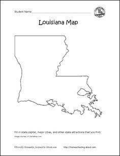 Connect the Dots Mystery Map EasyPin  Louisiana  Pinterest