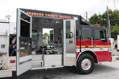 Pumper/Ambulance. Nice. My Department is a FD/EMS so employment requires all of us to be a FF and a EMT, most are Paramedics. So every fire brings several ALS units, the crews bunker out and join in. Their gear stays with them on the ambulances. But this would still be nice.