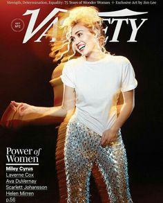 Miley Cyrus in Variety Magazine 2016