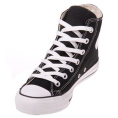 The Converse Chuck Taylor All Star Black Hi Top features a durable canvas upper with dual stitching, flexible midsole and a round rubber toe, Converse All Star heel badge and Converse All Star logo on the inside of the ankle. Converse Shoes Men, Cheap Converse, Black Converse, Converse Chuck Taylor All Star, Converse All Star, Chuck Taylor Sneakers, All Star Shoes, Top Shoes, Men's Shoes