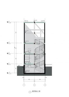 Section A Vertical Glass House / Atelier FCJZ