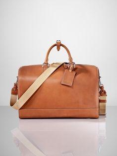 Leather Duffel - Ralph Lauren Travel Bags - RalphLauren.com