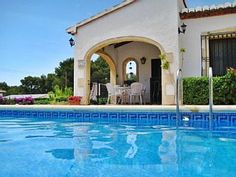 Spanish+Villa+in+Granadella+Javea+with+WIFI,+AC,+Pool,+BBQ+&+close+to+beaches.+++++Holiday Rental in La Granadella Beach from @HomeAwayUK #holiday #rental #travel #homeaway Spanish Villas, Moraira, Home And Away, Beaches, Wifi, Bbq, Spain, Mansions, House Styles
