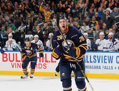 Zemgus Girgensons pumped up