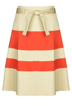 LTS color block skirt