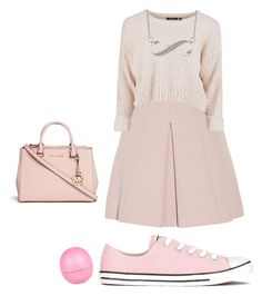 """#pentruvara"" by karina-mitrana on Polyvore featuring Alexander McQueen, Converse, River Island and Michael Kors"