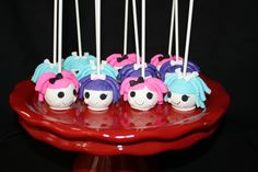 Cake Pops / Cake Balls - 'Lalaloopsy' cake pops