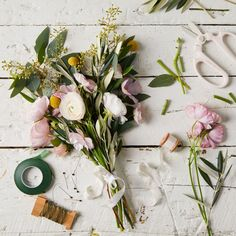 Flower Arranging Bouquet Kit on Food52