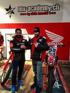 Again welcome Oscar Barreira in the Honda MX-Academy Team for 2018! #honda #hondateam #hondaracing #motocross #motocrossracing #sam