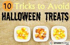 10 Tricks to Avoid Halloween Treats