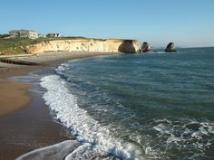 Freshwater Bay, Isle of Wight Ile De Wight, Tourist Information, Fresh Water, Places Ive Been, Tourism, England, Memories, Vacation, Holidays