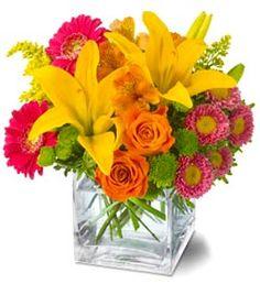 arreglo de flores naturales para decorar