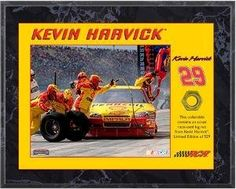 Kevin Harvick unsigned 8x10 Plaque with Race Used Lugnut- Limited to 529 - Framed NASCAR Photos, Plaques and Collages by Sports Memorabilia. $65.46. Kevin Harvick competes in the NASCAR Sprint Cup Series for Richard Childress Racing, driving the #29 Shell Pennzoil Chevrolet Impala. This is an unsigned 8x10 Photo Plaque with Race Used Lugnut. Plaque is licensed by Nascar and comes with a Certificate of Authenticity. Limited Edition of 529.
