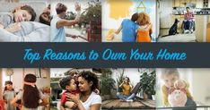 Own Your Home! Check Out These Top Reasons Why! [INFOGRAPHIC] - KAYE SWAIN Brooklyn Real Estate, Colorado Real Estate, Real Estate News, Local Real Estate, Fort Lauderdale Real Estate, Inmobiliaria Ideas, Phoenix Real Estate, Mortgage Loan Originator, Realtor Agent