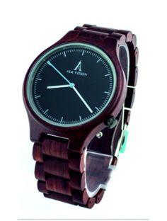 Štýlové náramkové hodinky - ALK VISION Kód:  DH00012 -Black Dial Male Stav:  Nový produkt  Dostupnosť:  Skladom  Elegantné drevené hodinky s jedinečným dizajnom. Darček vhodný pre muža aj ženu. Hodinky sú vyrobené z prírodných materiálov bez umelých farbív.