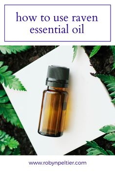 Raven essential oil is amazing for your respiratory system. Lean all its benefits and how to use it on this post. It's super helpful. #aromatherapy #essentialoils #respiratory Raven Essential Oil, Natural Essential Oils, Young Living Essential Oils, Natural Oils, Ravintsara, Respiratory System, Oil Benefits, Natural Living, Starter Kit