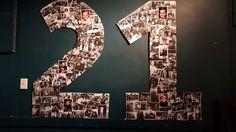 Keanu's 21st Photo-Board