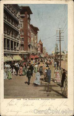 The Boardwalk Atlantic City New Jersey