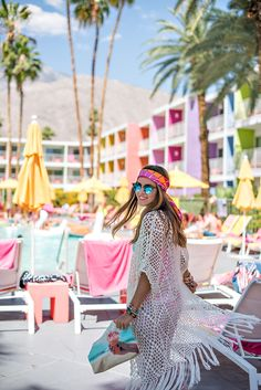 Photography: Vero Suh Photography - verosuh.com   Read More on SMP: http://www.stylemepretty.com/living/2015/05/28/stylish-girls-weekend-getaway-in-palm-springs/