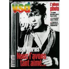 VSD (n°1107) du 11 au 18 novembre 1998 - Jean Marais - Grotte Chauvet - Prince Charles - Daniel Cohn-Bendit - Nicolas Cage - Native - Tony Poshepny - Bruno Masure -... [Magazine mis en vente par Presse-Mémoire]