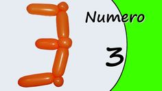 Video tutorial on how to make the Number three with balloon twisting. Learn the numbers with balloons modeled #numbers #number3 #numberthree