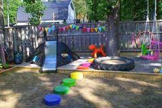 Spielplatz für kinder ideen